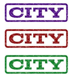 city watermark stamp vector image vector image