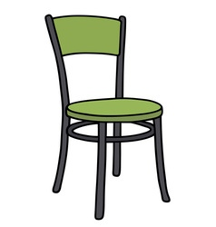 Color chair vector