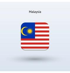 Malaysia flag icon vector