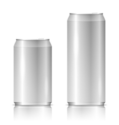Aluminum Cans vector image