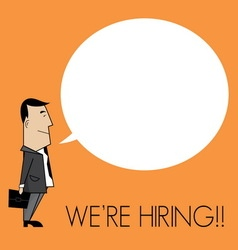We are hiring1 resize vector