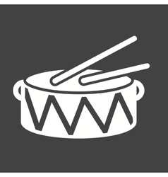 Heavy drums vector