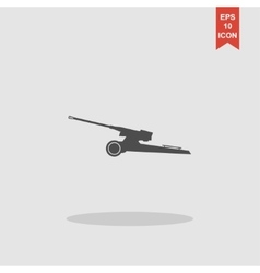 Artillery icon concept for vector image