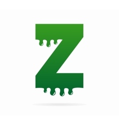 Letter Z logo or symbol icon vector image