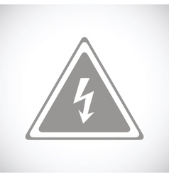 Voltage black icon vector