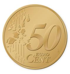 50 euro cent vector
