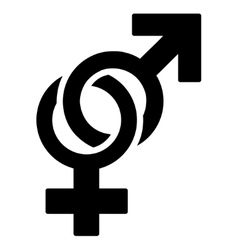 Sexual symbols icon vector