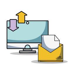 Computer data center system information vector
