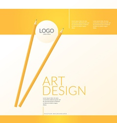 Contemporary bright background to showcase your vector