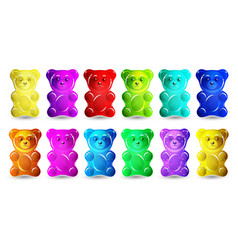 gummy bear vector image