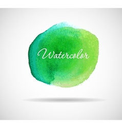 Watercolor design vector image