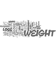A weight loss plan which is fun to implement text vector
