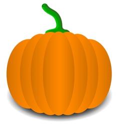 Pumpkins for halloween vector