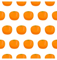 Citrus orange seamless pattern vector