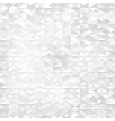 Abstract geometric shape from triangles vector