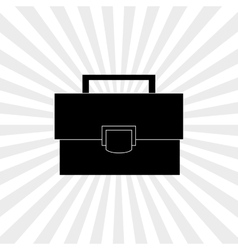 Suitcase icon design vector