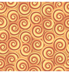 Abstract seamless swirl pattern vector