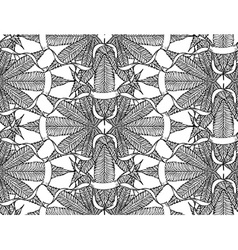 Cannabis pattern6 vector image