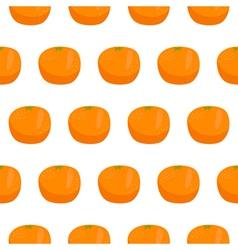 Citrus orange seamless pattern vector