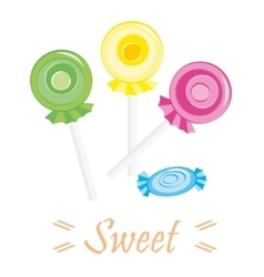Set of sweet vector image
