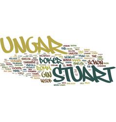 The kid die legende des stuart ungar text vector