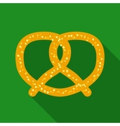 Twisted knot pretzel vector