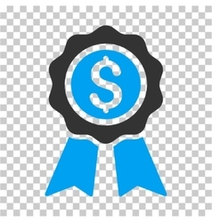 Business award icon vector