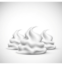 The cream vector image