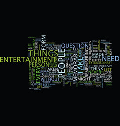 Are you in search of a memorable entertainment vector