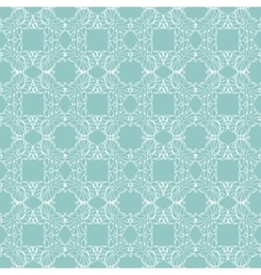 Sea green abstract drawing seamless pattern vector