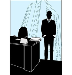 Office poster vector