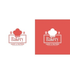 Bakery vintage logos vector