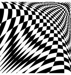Design monochrome checkered background vector