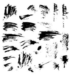 grunge set 2 380 vector image