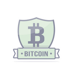 cryptocurrency logo vector image vector image