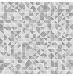 gray right triangle pattern seamless background vector image vector image