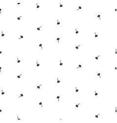 tiny simple floral seamless simple pattern vector image vector image