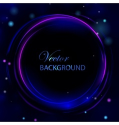 Circle light abstract background vector