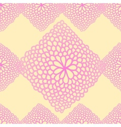 Floral seamless rose pattern vector image