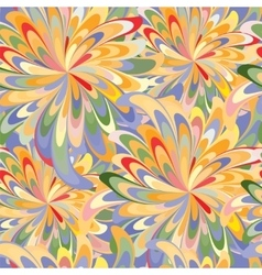 Bright abstract pattern vector image
