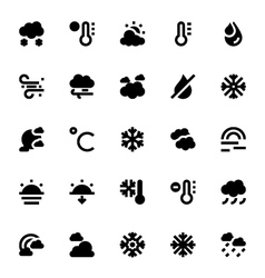 Weather icons 2 vector