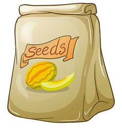 A pack of watermelon seeds vector