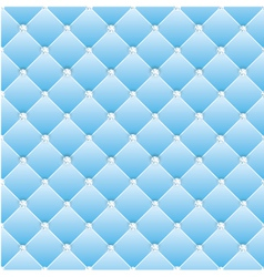 Abstract upholstery on a blue background vector image vector image