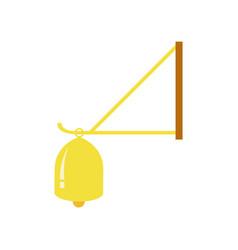Simple door bell vector