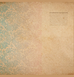 vintage old paper texture vector image