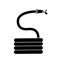 Garden water hose pictogram vector