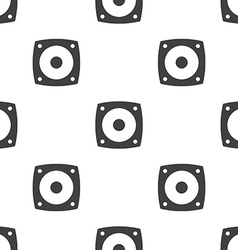 Speaker seamless pattern vector
