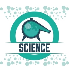 Science and chemistry design vector