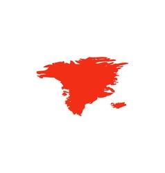 Alaska Icon vector image vector image