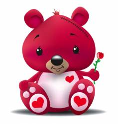 love bear vector image